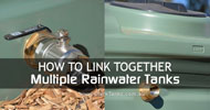 How to link multiple Rainwater Tanks together