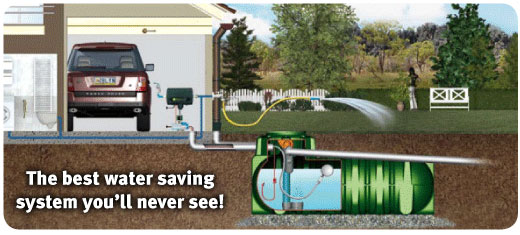 how to move a rainwater tank